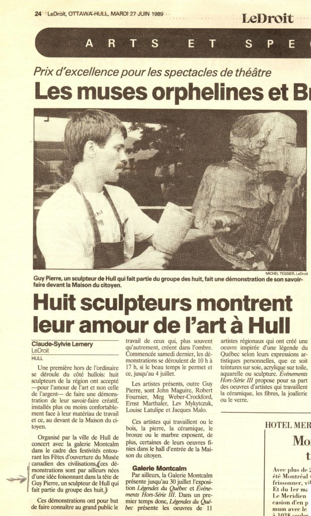 Journal Le Droit - 1989