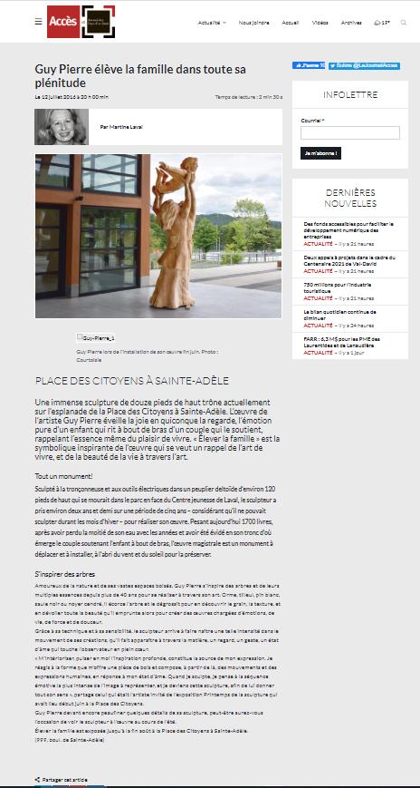 Journal Accès - 2016