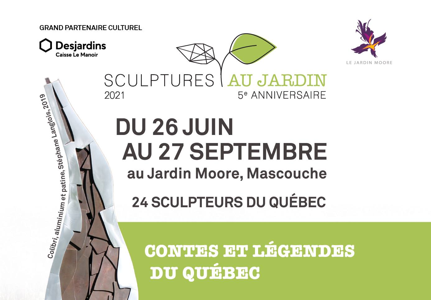 Exposition Jardin Moore